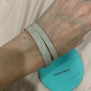 Tiffany & Co. Jewelry - ❌SOLD❌ Tiffany & Co. Silver Somerset Mesh bangles